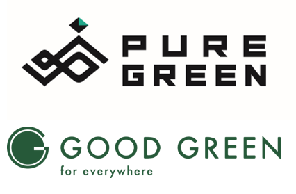 業務提携_ロゴ_PUREGREEN_GOODGREEN