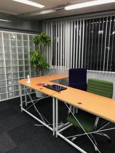 千代田区のレンタル観葉植物_1_オフィスのソングオブジャマイカ